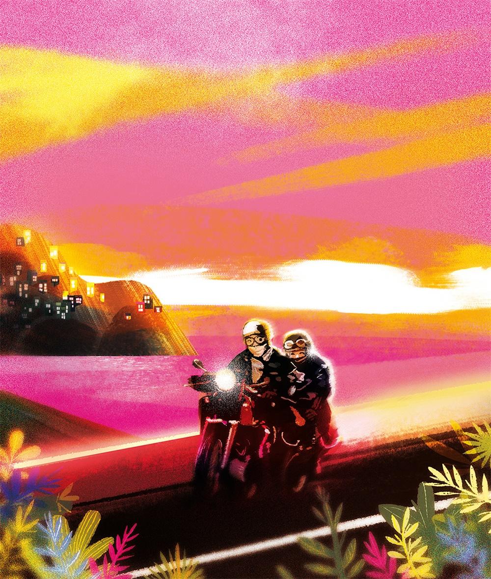 色彩艳丽!20款不同风格的光影插画