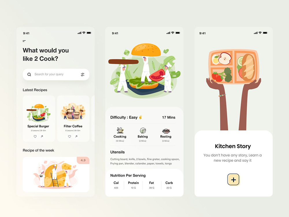 12款餐饮美食类App设计案例