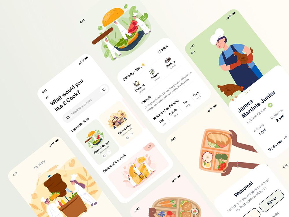 美食不可辜负!12款餐饮APP界面设计