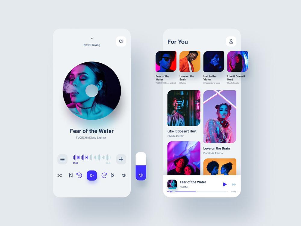 12款音乐播放器App灵感
