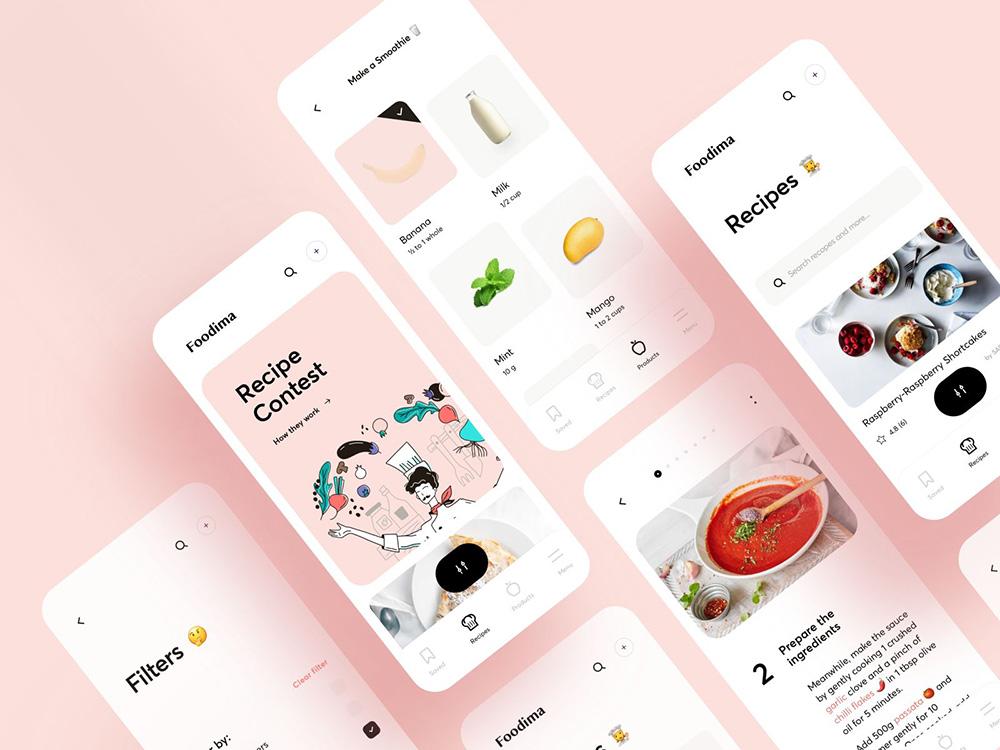 12组餐饮类App界面设计