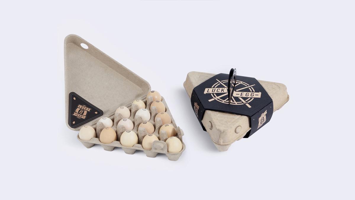 反传统!农产品鸡蛋包装设计