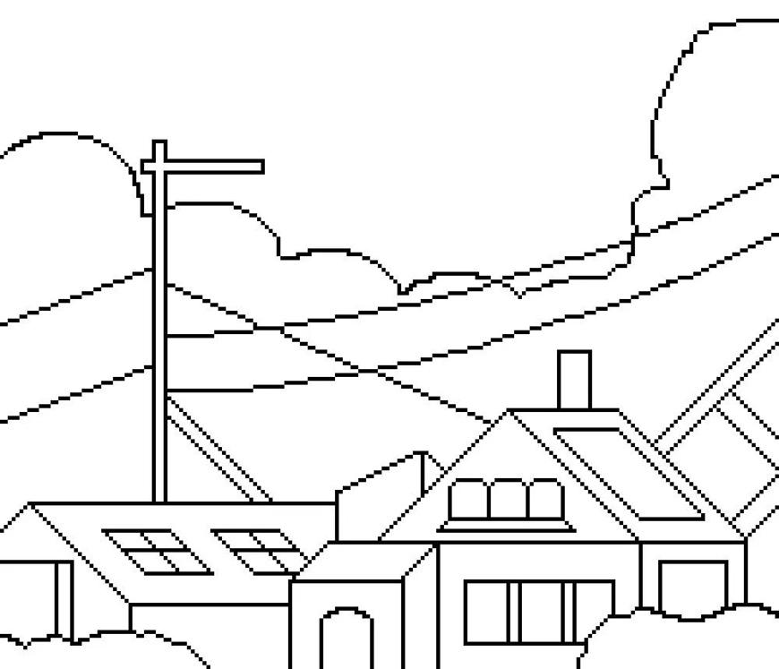 AI+PS教程!全网流行的像素风插画怎么做?