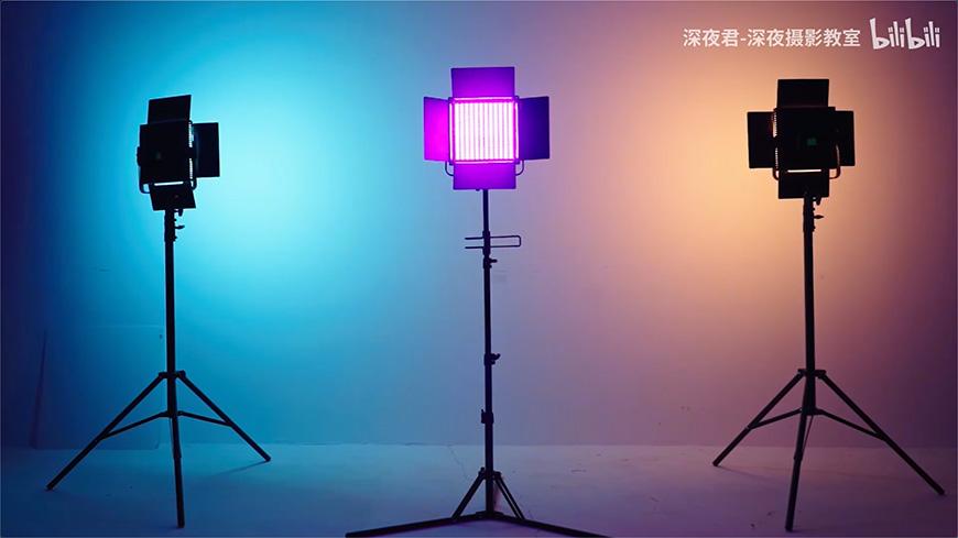 摄影教程!如何用「彩色布光技巧」拍摄大片?(含原理讲解)