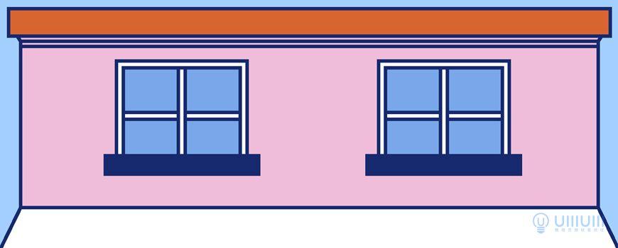AI教程!教你绘制扁平风街边小店