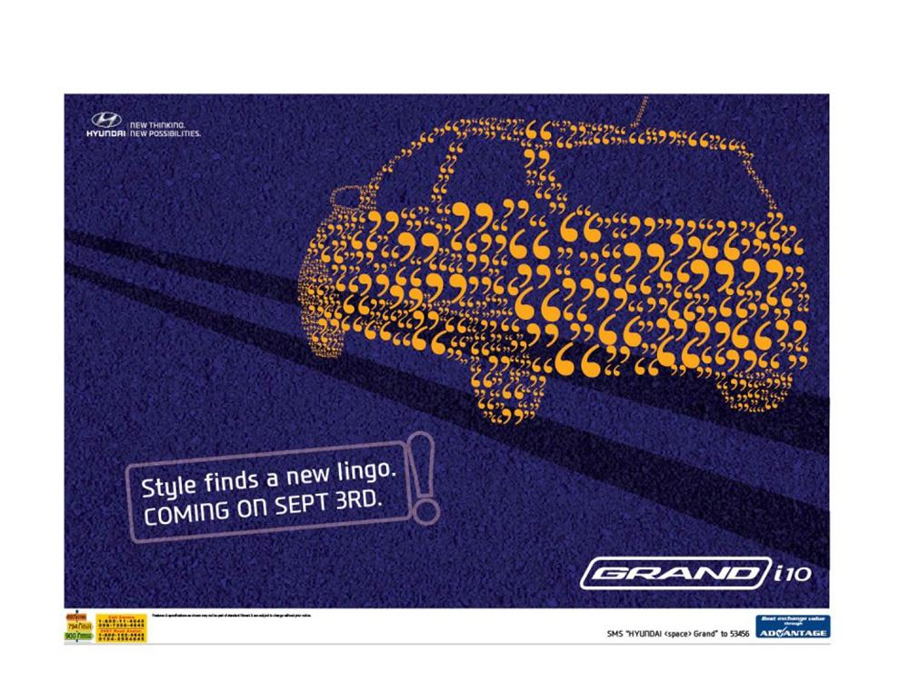 12张现代汽车商业海报设计