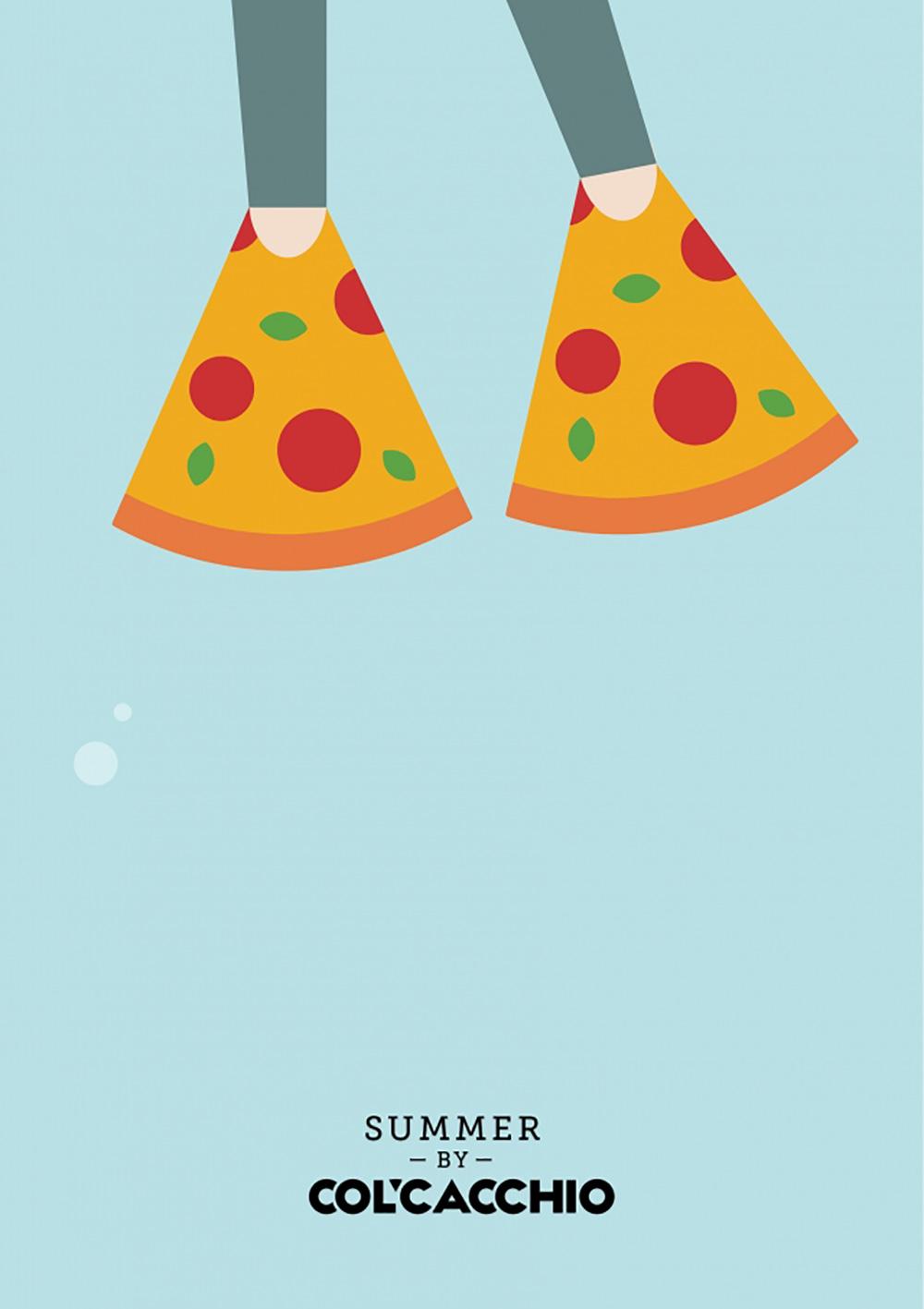 有意思的创意!披萨品牌Pizza Hut商业海报设计