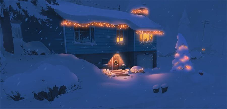 12款不同光线的景观插图