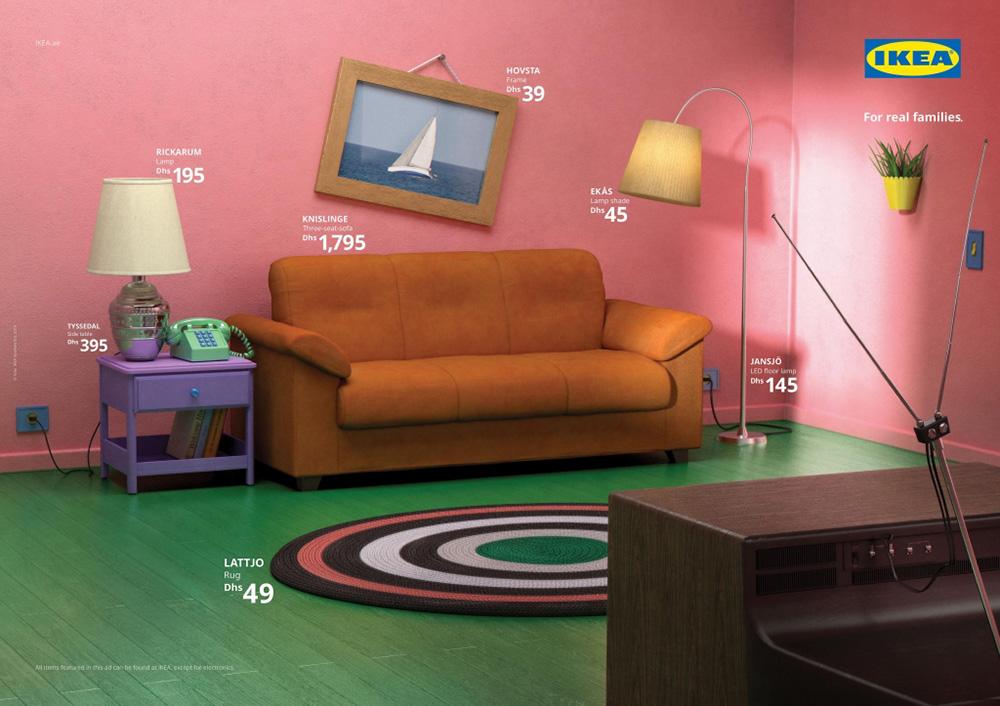 舒适家居!14张IKEA产品海报设计