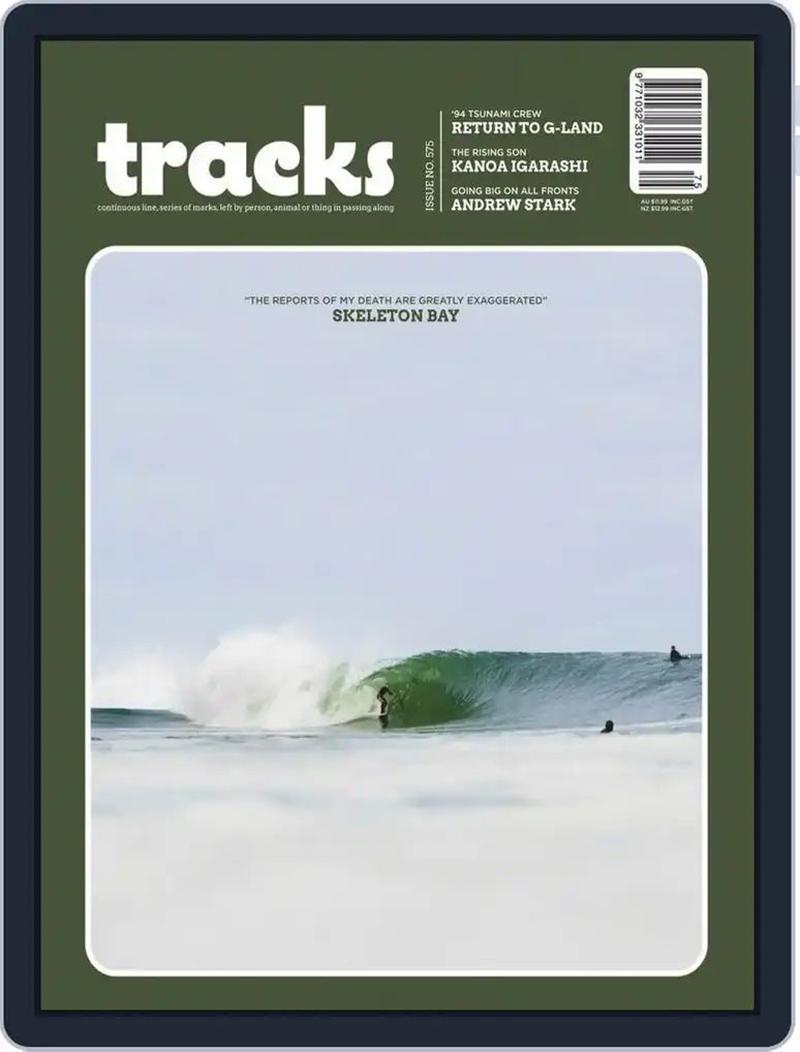 运动无极限!《Tracks》杂志封面设计