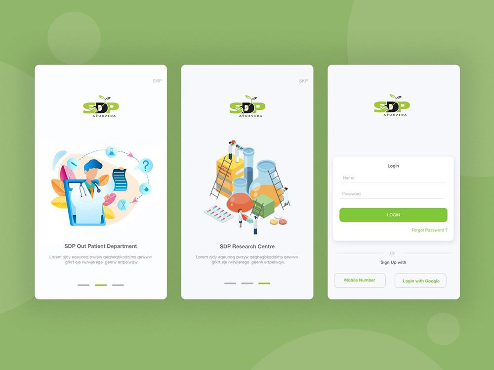 12组引导页闪屏界面设计灵感