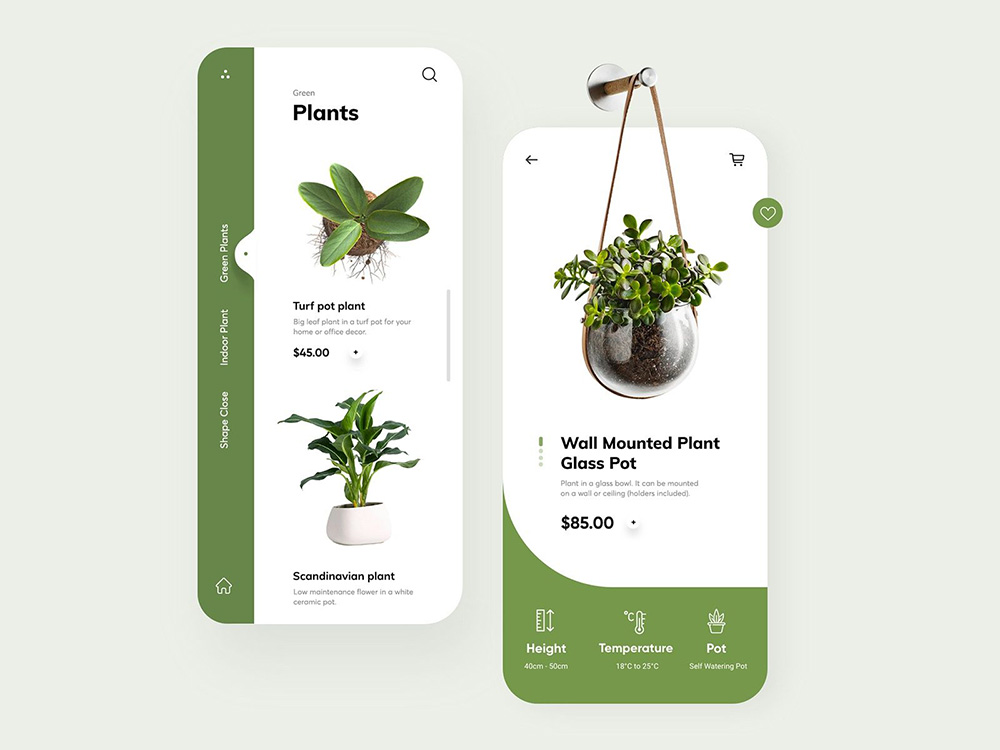 充满生机!12组绿植相关APP界面设计