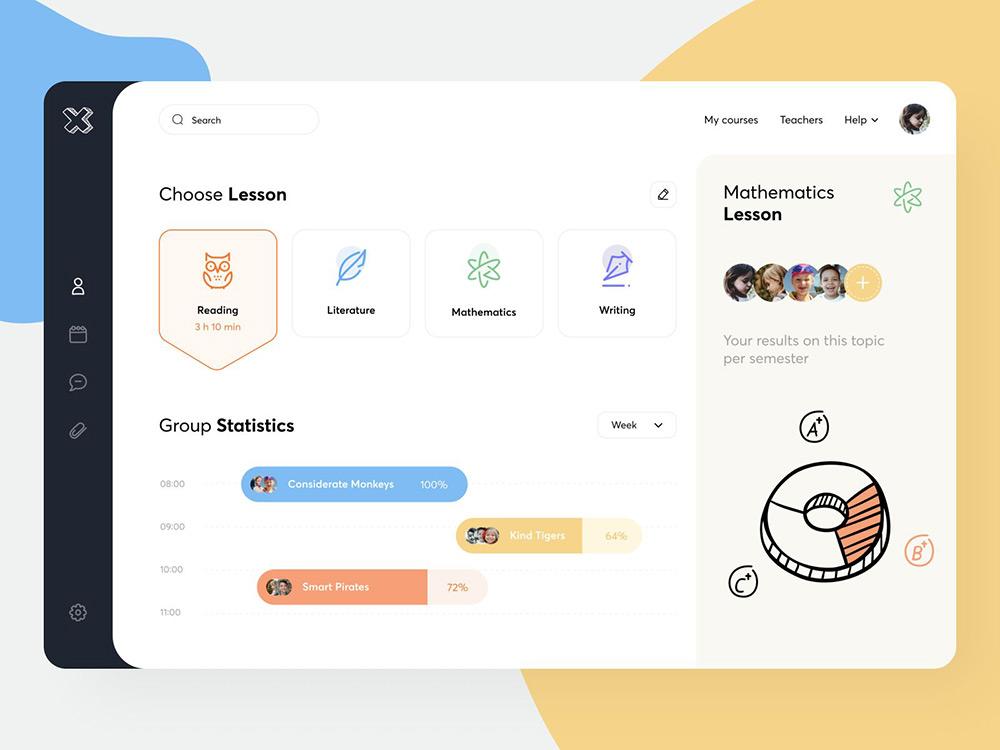学习使人进步!12款在线教育网页设计