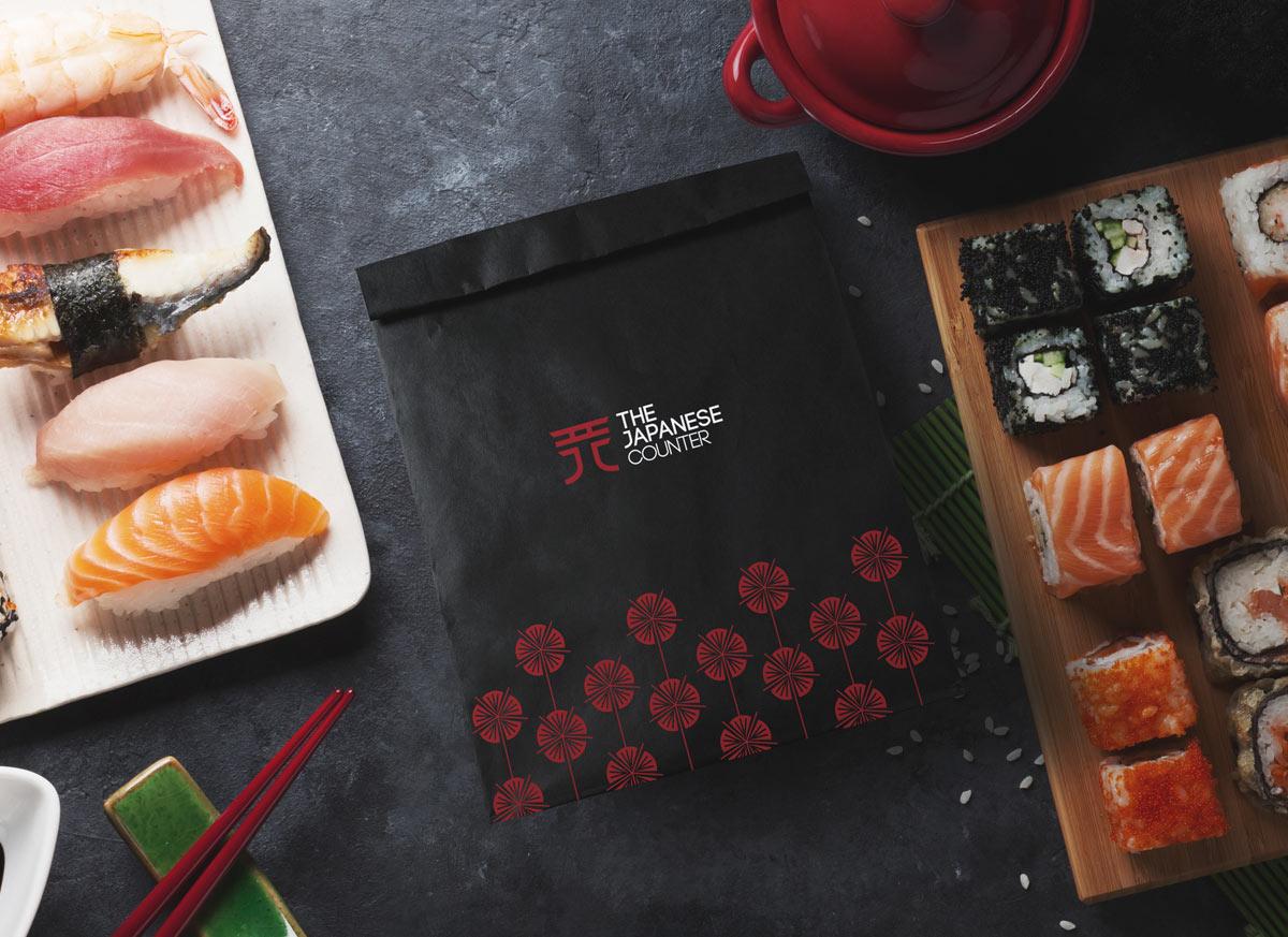 现代日式!餐饮品牌VI设计