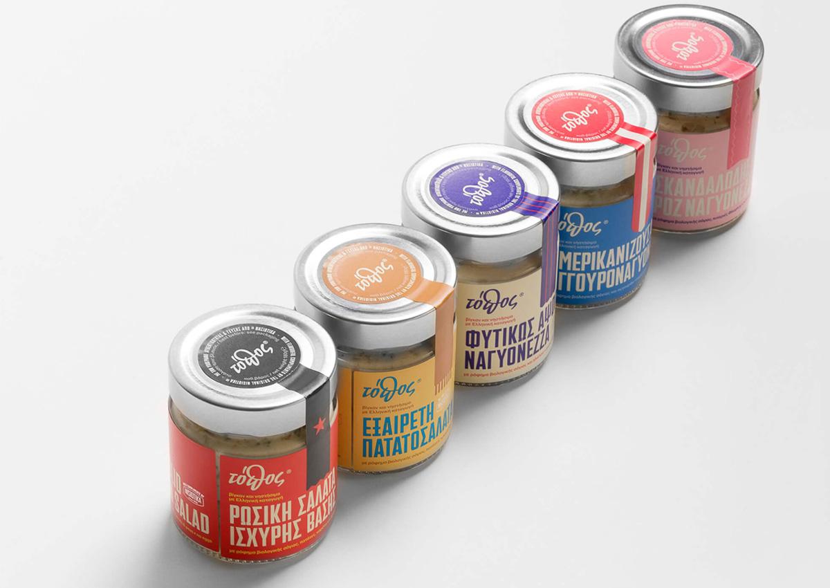 浓烈色彩!调味品包装设计