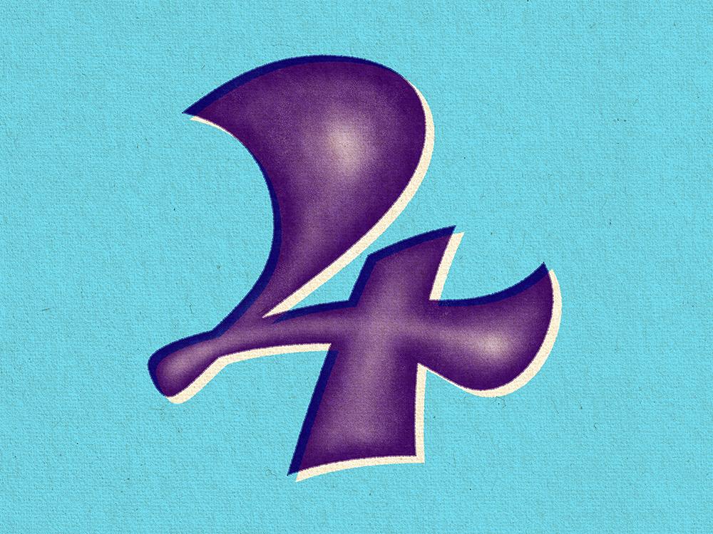经典视觉!36款复古书法字体设计