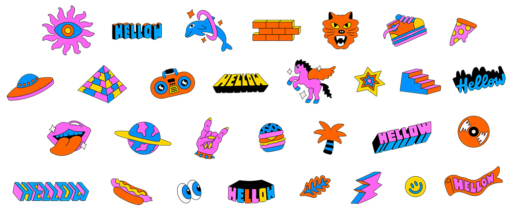 潮趣涂鸦!20款摇滚精神字体设计