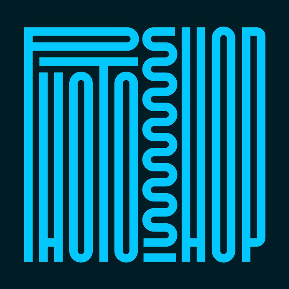 夸张构成!20款平面创意字体设计
