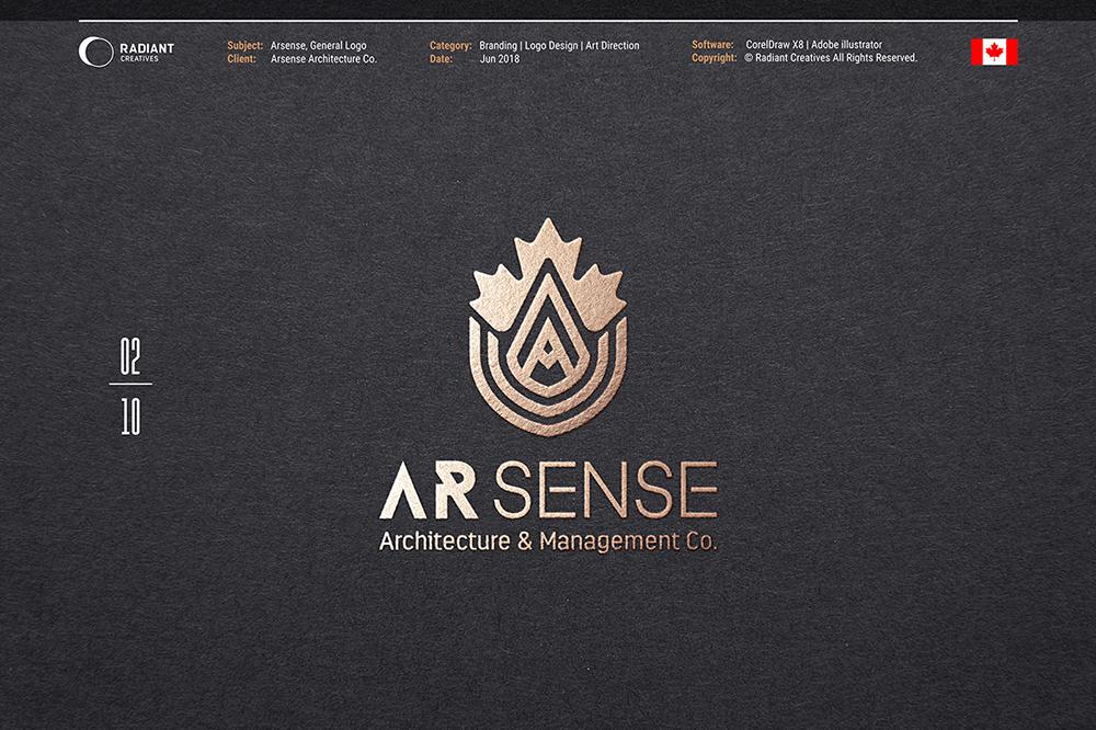 商用高大上!10款金色质感Logo设计