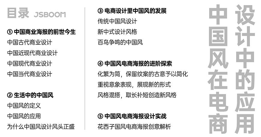 PS教程!中国风在电商设计中的应用!(含实例讲解)