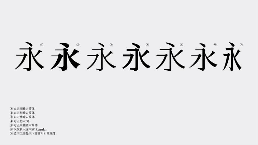 设计思路教程!如何设计中文标识?