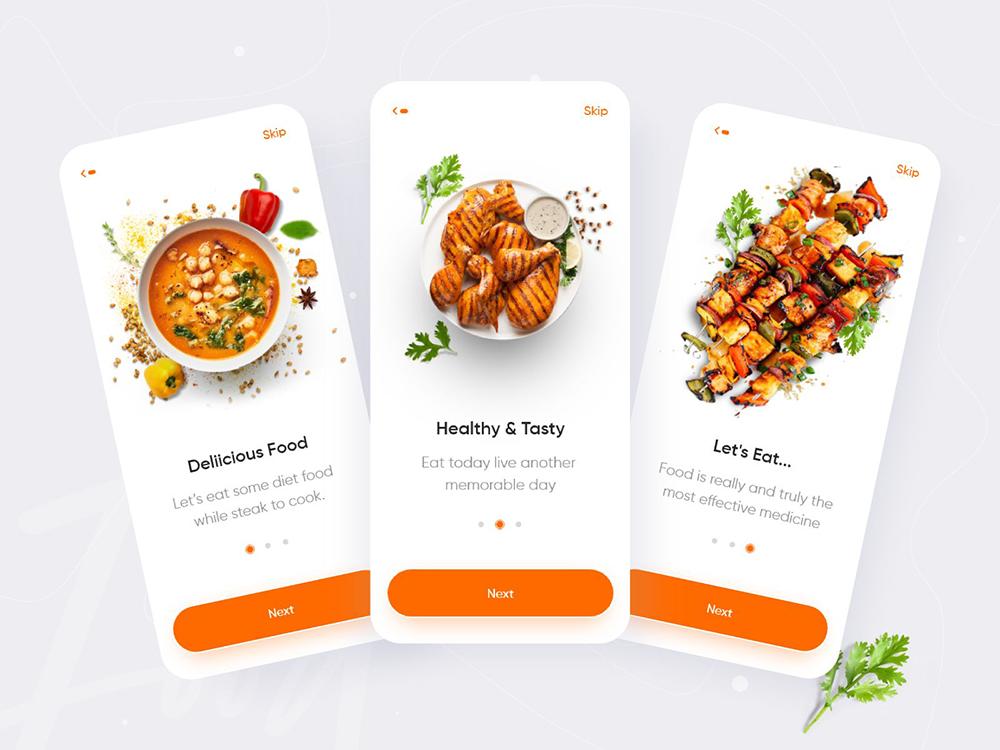 12组外卖App界面设计