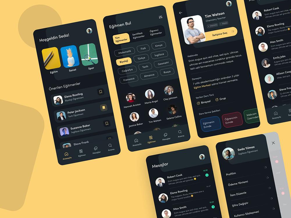 12组在线教育APP界面设计