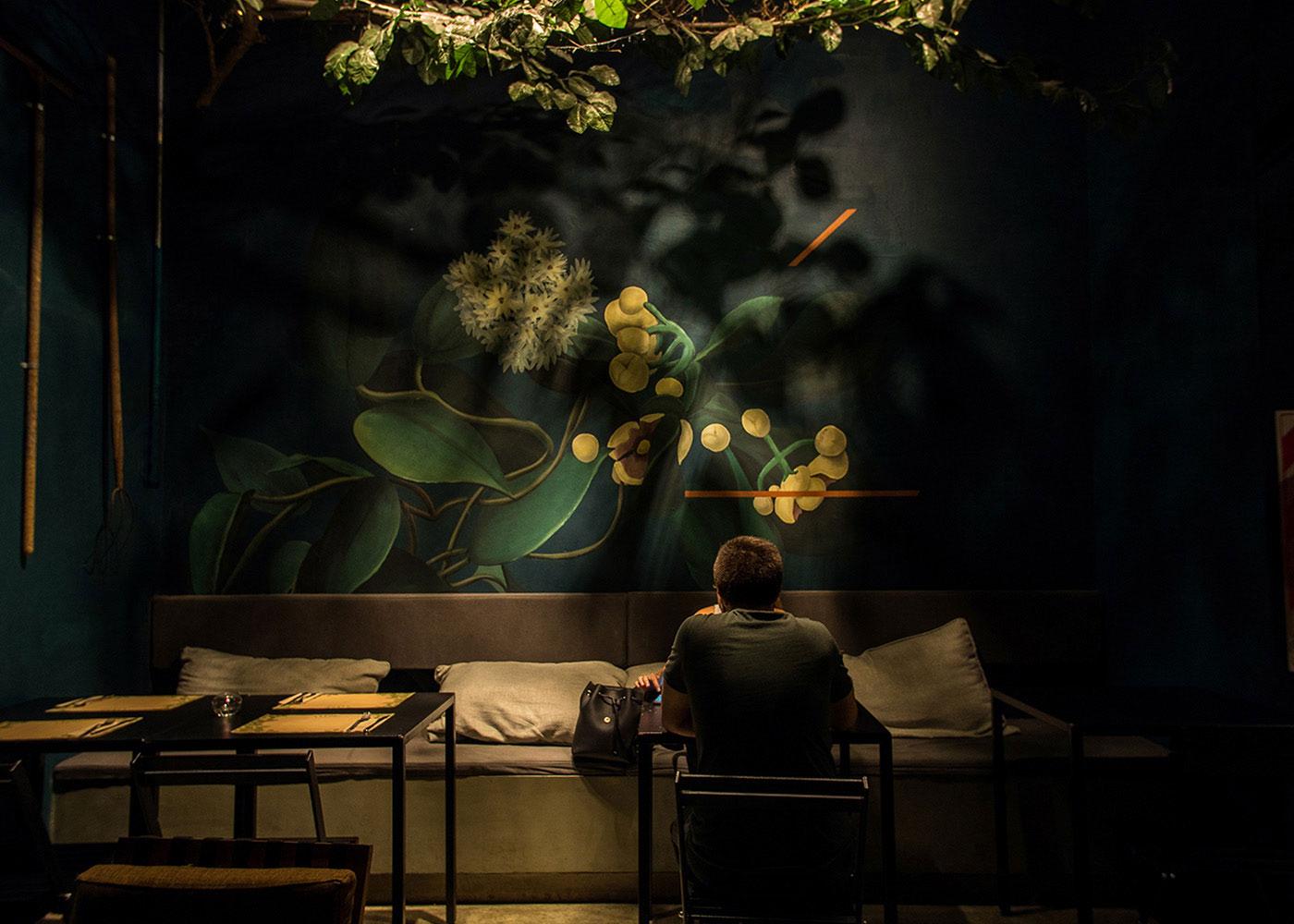 清新自然!餐厅视觉VI设计