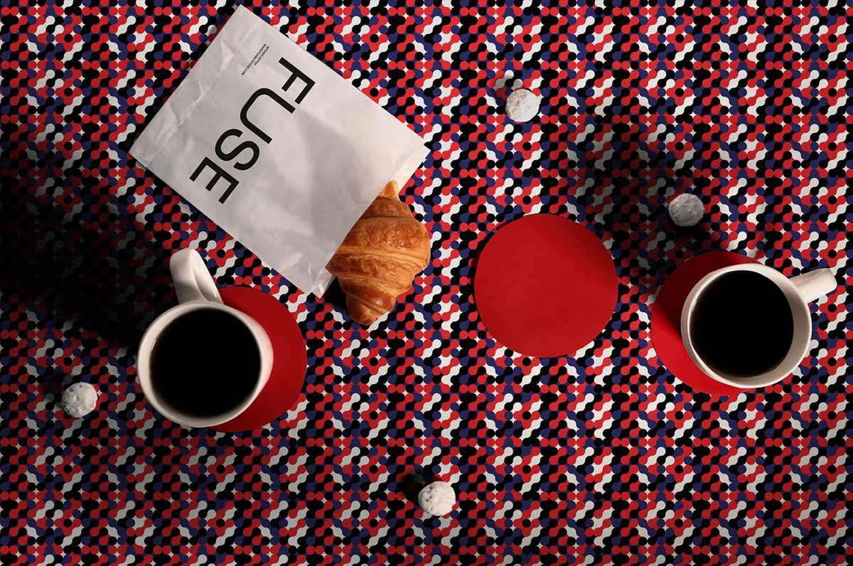 红蓝碰撞!咖啡品牌VI设计