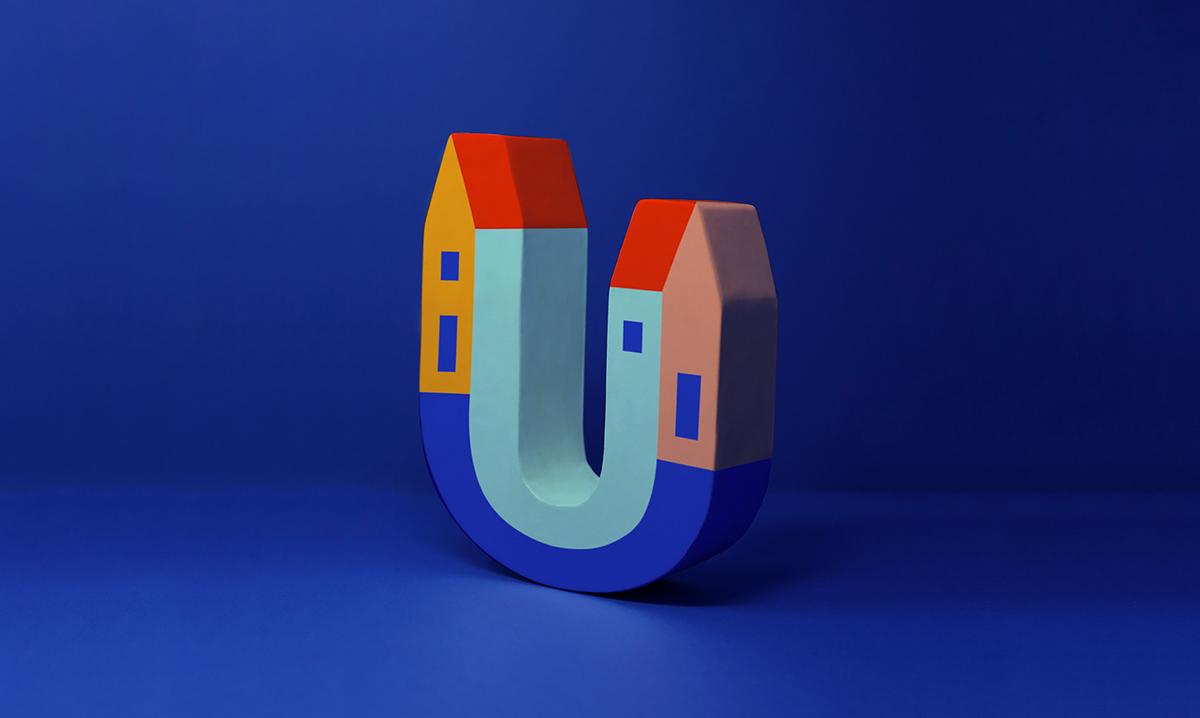 鲜亮色彩!租房平台品牌VI设计
