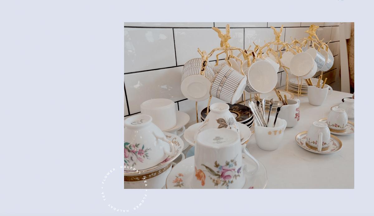 优雅休闲!花茶店品牌VI设计