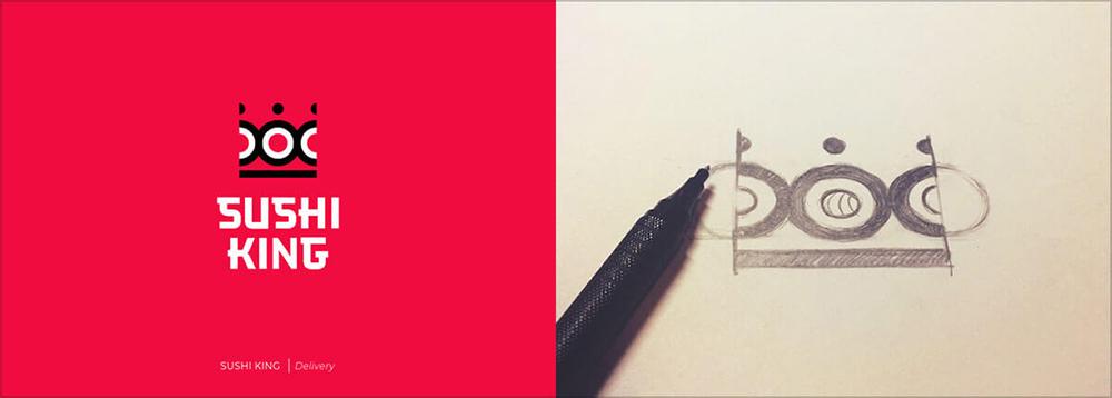 手绘表达!20款联想创意Logo设计