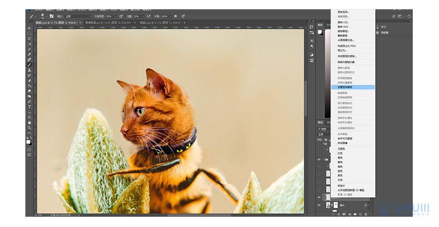 PS教程!教你制作可爱「蜂猫」创意合成!