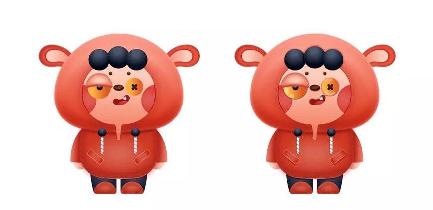 AI教程!教你用鼠标绘制伪3D立体卡通形象