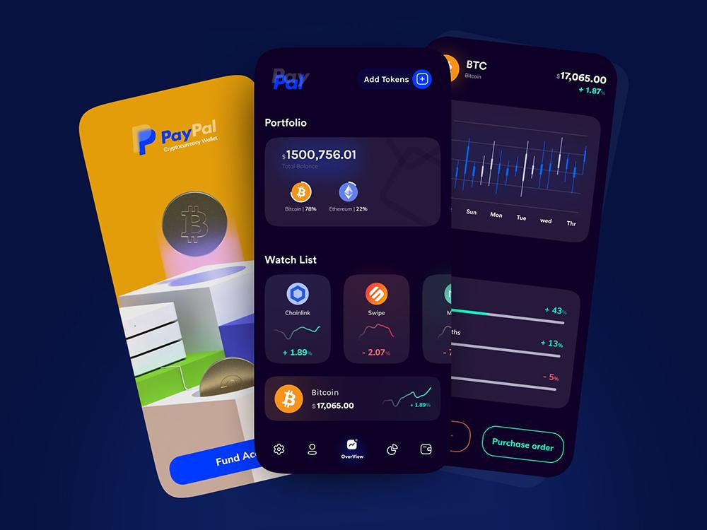 把钱包放进手机里!12组钱包APP界面设计