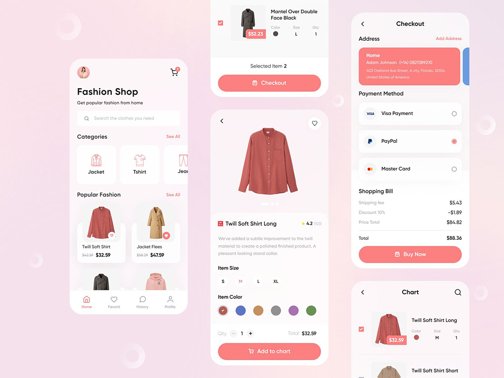 服饰类购物APP如何设计?