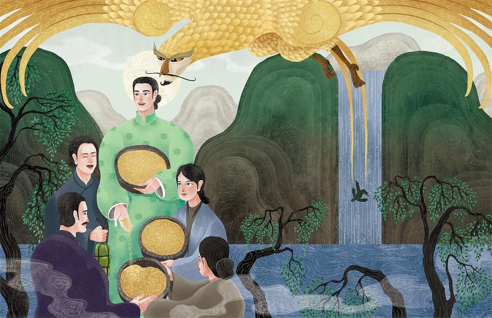 儿童绘本!外国插画师眼中的中国古风