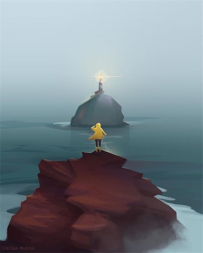光感细腻!12款景观插图
