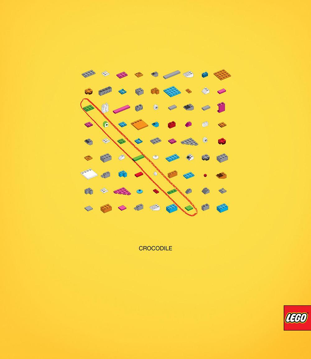 玩具大拿!14张乐高创意商业海报设计