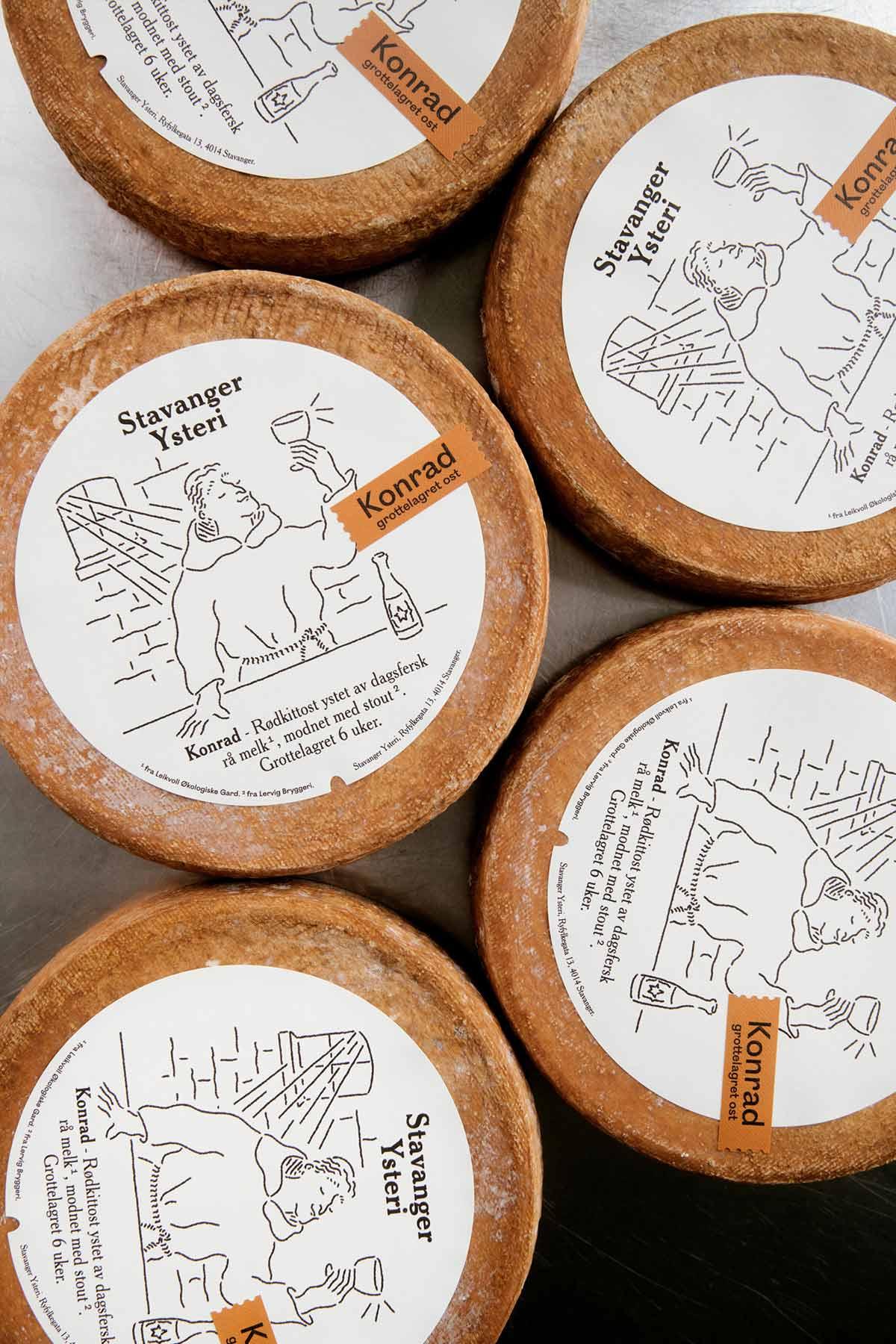 插画风格!奶酪品牌VI设计