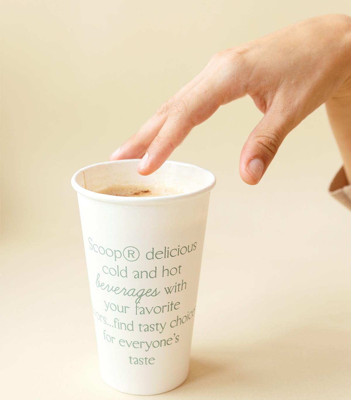 热情红色!咖啡奶昔店品牌VI设计