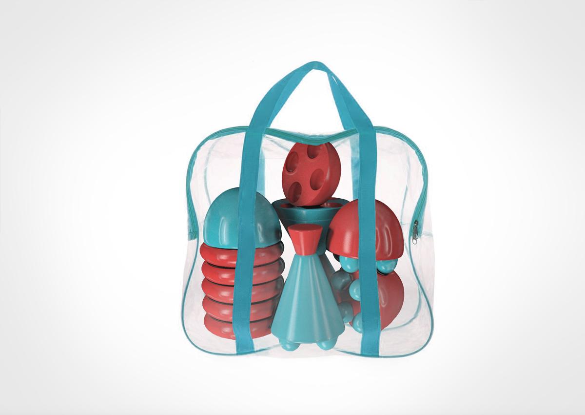 好玩有趣!儿童护理品牌VI设计