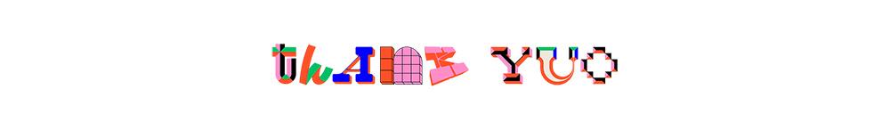几何构成!26款复古字母字体设计