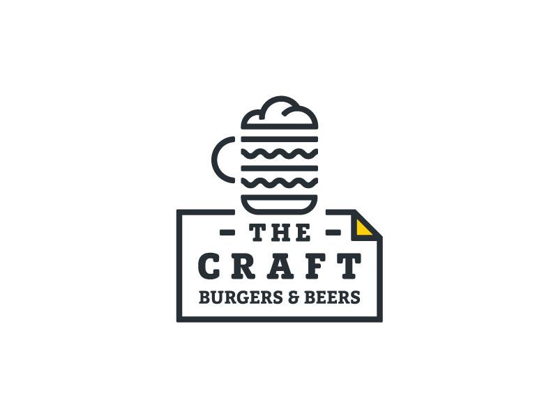快乐肥宅!20款汉堡元素Logo设计