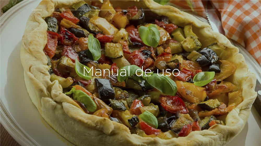 自然美味!天然美食品牌VI设计