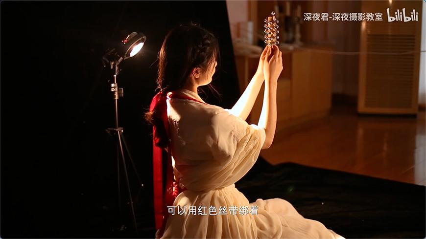 摄影教程!3分钟学会拍摄绝美「神明少女」
