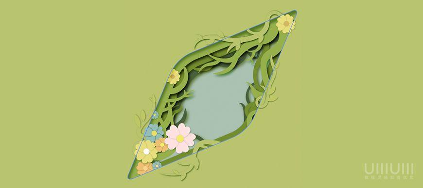 AI教程!手把手教你绘制春分主题剪纸风格插画!