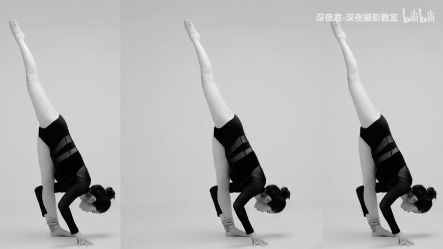 摄影教程!怎样用两盏灯,拍出通透干净的瑜伽作品?