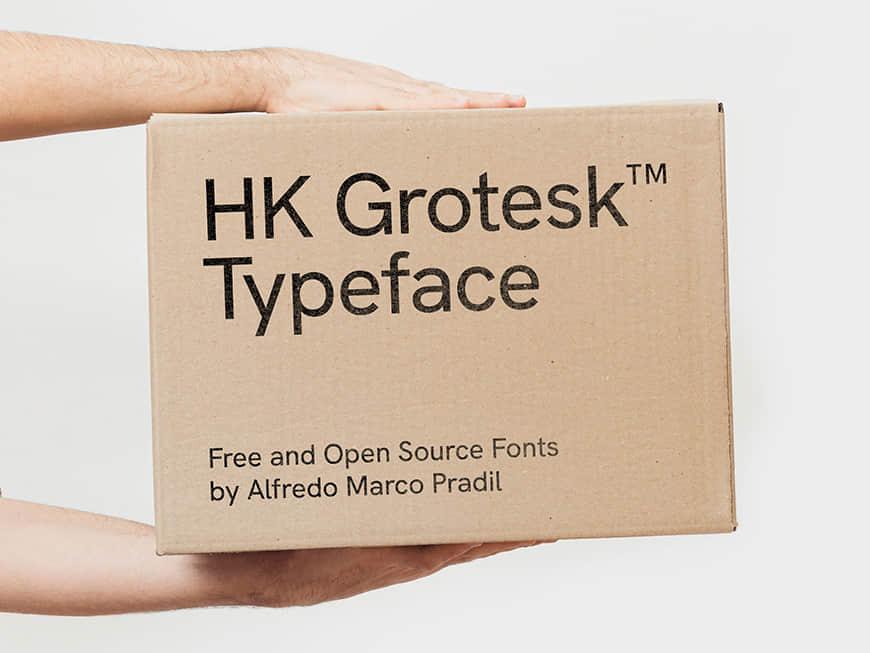 免费字体下载!一款经典百搭七个字重的英文字体-HK Grotesk