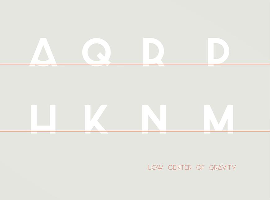 免费字体下载!一款古怪极简重心下移的免费英文字体-Azedo